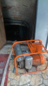 Ispumavanje potopnom muljnom pumpom