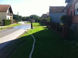 Ispumpana voda puštala se u oborinski kanal