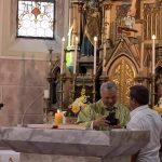Opraštaj od župnika P. Mesarića
