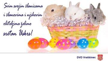 sretan uskrs svima Sretan Uskrs svima! | Dobrovoljno vatrogasno društvo Vratišinec sretan uskrs svima